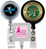 customized badge reels