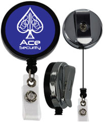 customized heavy duty badge reel nylon cord